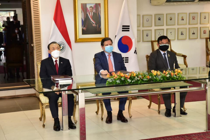 Paraguay y Corea suscriben Acuerdo Bilateral sobre Servicios Aéreos